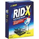 RID-X Septic Treatment, 2 Monthly Doses, 19.6 oz (Pack of 6)