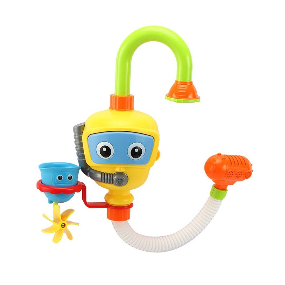 Eizur Badewannenspielzeug, Brunnen Spielzeug Wasser-Spielwaren Spray Station Badewanne für Baby Kinder Dusche