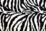Sleepwell Bedding Luxury Egyptian Cotton 500-Thread-Count Sateen One Qty Bed Skirt Full Size (+34 Inch) Pocket Depth, Zebra Print