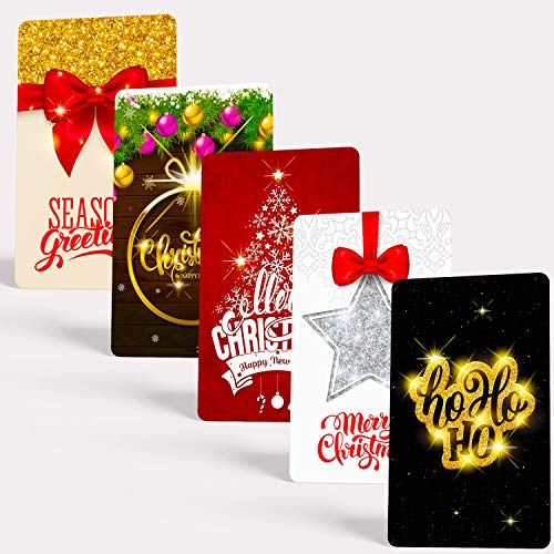(Tiny Love Cards - Christmas Edition | 85 Cute BLANK Mini Cards for Hand-Written notes 2