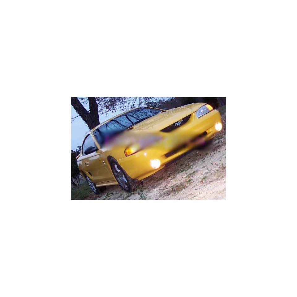 94 98 Ford Mustang Cobra Fog Lamps kit lights 95 96 97