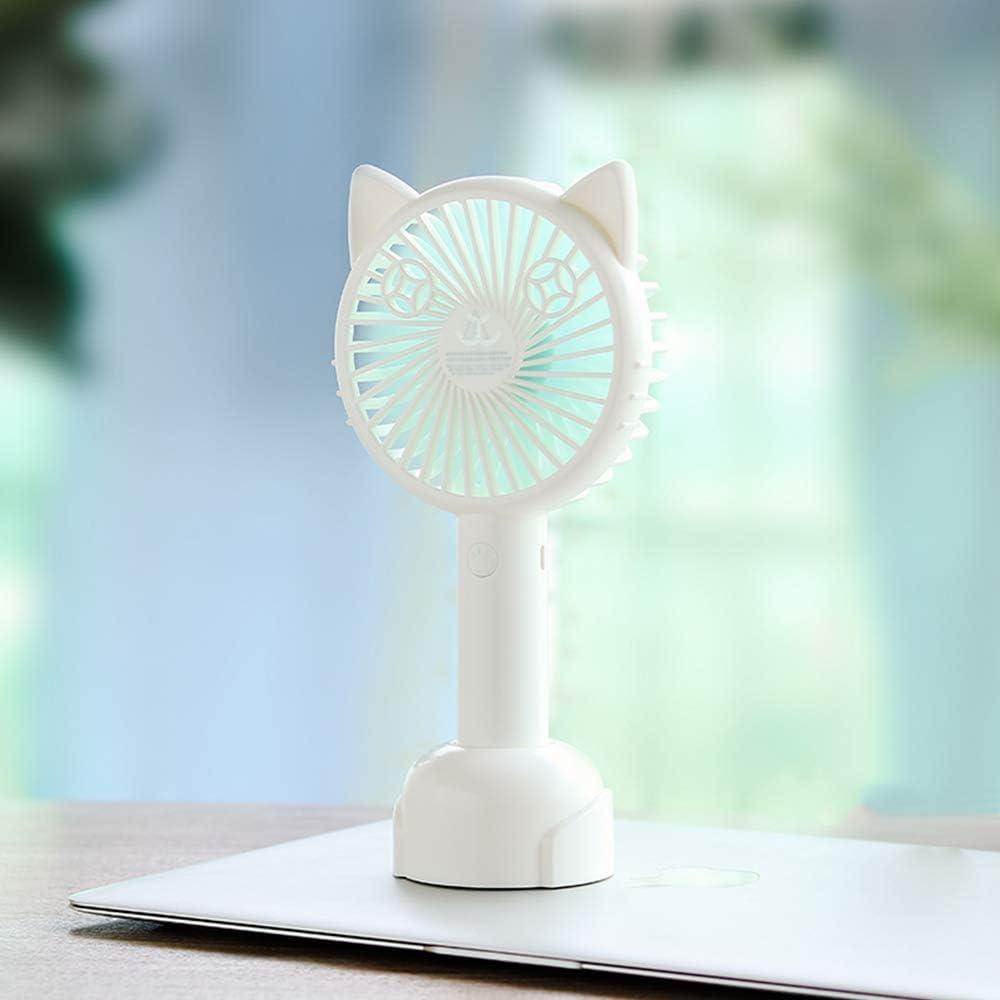 VEVICE Mini Ventilador portátil,Ventilador de Mano Personalizable ...