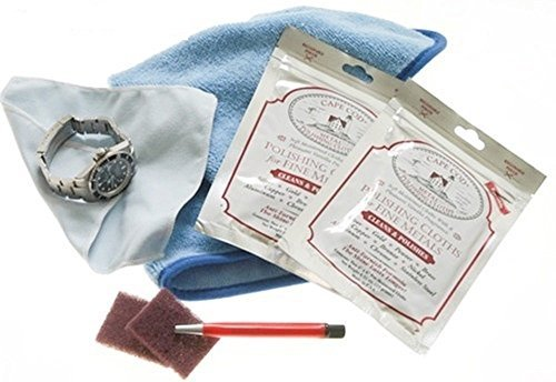 Complete Watch Care and Scratch Removal Kit for High Polish & Satin Finishes (Finish Satin High Polish)