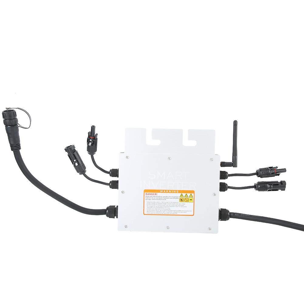 Grid Tie Micro Solar Inverter SG600MD 120V 230V Micro Solar Inverter IP65 Waterproof Grid Inverter 600W