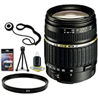 Tamron AF 18-200mm f/3.5-6.3 XR Di II LD Aspherical (IF) Macro Zoom Lens for Pentax Digital SLR Cameras + 62mm UV Filter + Lens Cap Keeper + Deluxe Starter Kit DavisMax Bundle
