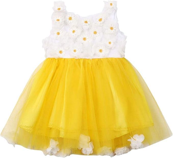 Sunflower Princess Anna Tutu Dress