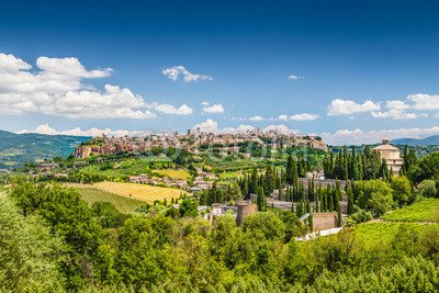 Leinwand-Bild 120 x 80 cm   Historic town of of of Orvieto, Umbria,  , Bild auf Leinwand B0113K274M Untersetzer 665663