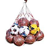 Smartcoco Sports Heavy Duty Ball Bag For Basketball, Volleyball, Soccer, Football, Rugby