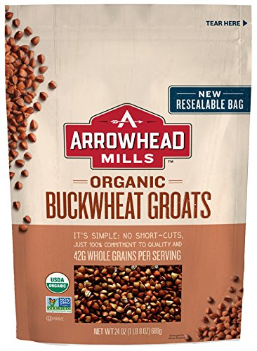Arrowhead Mills Organic Buckwheat Groats, 24 oz. (Pack of 6) ()