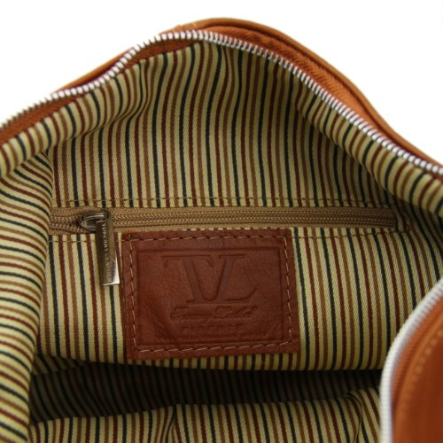Yvette Tuscany Cognac mujer piel topo oscuro Marrón Leather en Bolso para pAAafUw