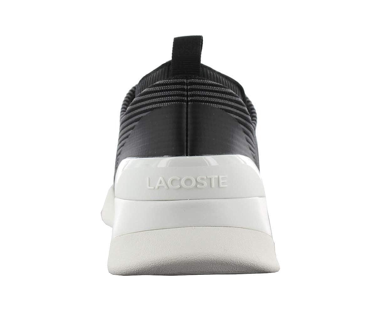 Amazon.com: Lacoste Mens Lt Dual Elite 317 1 SPM Trainers, Black: Clothing