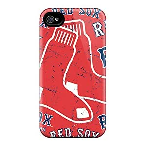 AnnetteL Perfect PC Case For Iphone 4/4s/ Anti-scratch Protector Case (boston Red Sox) WANGJING JINDA