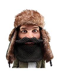 Beard Head - The Original Classic Trapper Knit Beard Hat