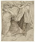 "Classic Art Poster - Study of drapery, Lambert Lombard, 1516 - 1566 20"" x 24"""