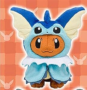 Pokemon Center Original Plush Doll Eevee Poncho Vaporeon (Showers) 1007-