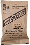 MRE Star Ready-to-Eat Menü: 7 Pasta w. Marinara S.