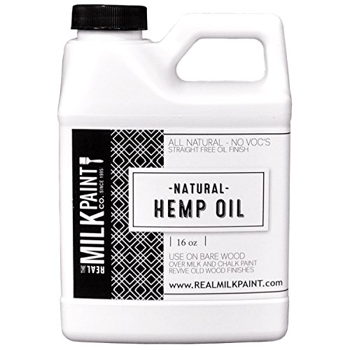 Hemp Oil Real Milk Paint (16 Oz) (Hemp Wood)