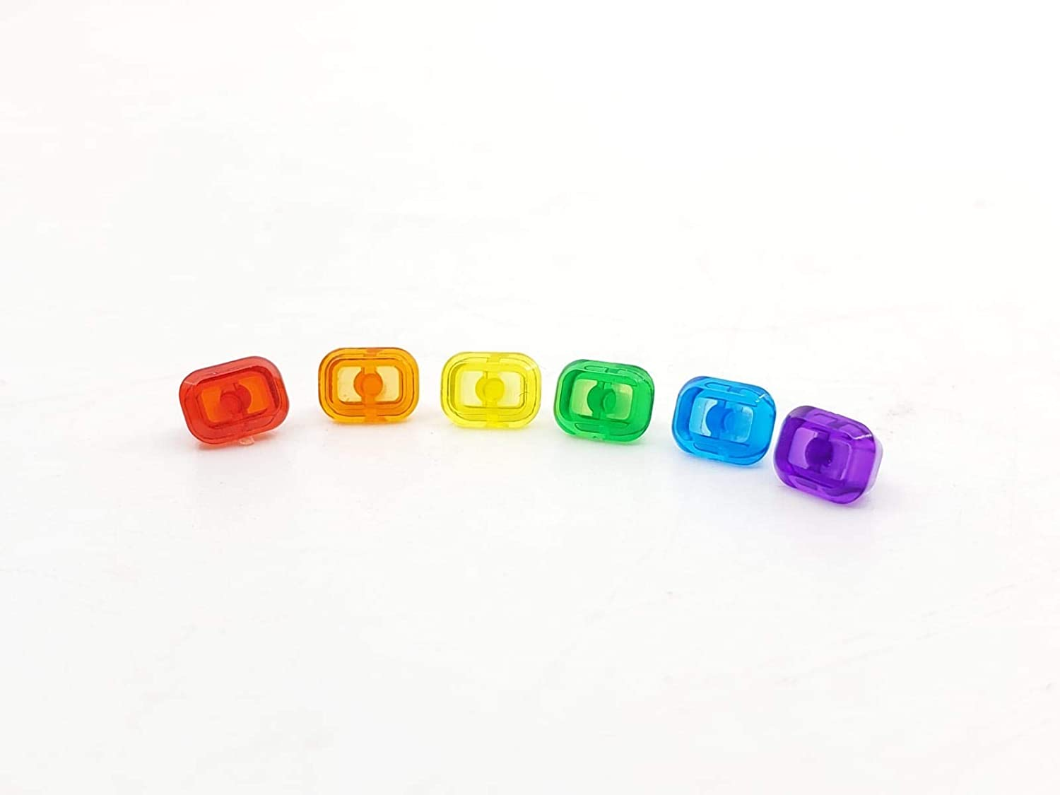 BlingBlingBrick Marvel Avengers - Infinity Stones Gems - All 6 for Infinity Gauntlet (Glove, and Minifigure not Included)