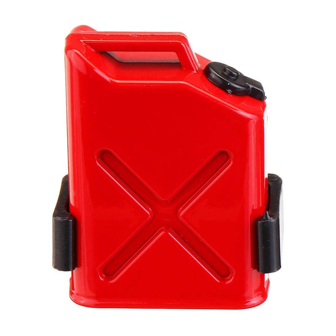 WEIHAN T-power 1//10 r/éservoir de carburant en plastique RC chenille voiture pi/èces de d/écoration tambour dhuile pour TRX4 scx10 90046 Wrangler JK D90 D110 accessoires de voiture rouge