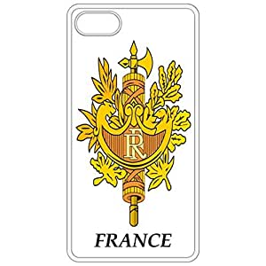 France - Coat Of Arms Flag Emblem White Apple Iphone 6 (4.7 Inch) Cell Phone Case - Cover wangjiang maoyi
