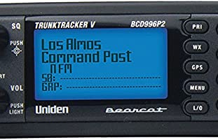 Uniden BCD996P2 Digital Mobile TrunkTracker V Scanner, 25,000 Dynamically  Allocated Channels, Close Call RF Capture Technology, 4-Line Alpha display,