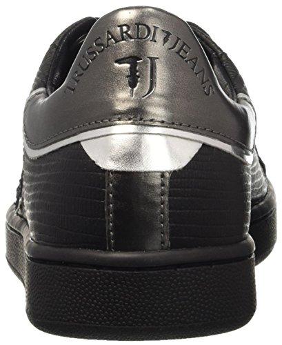 Trussardi Jeans Damen 79s26351 Pumps Grigio (Gun Metal)