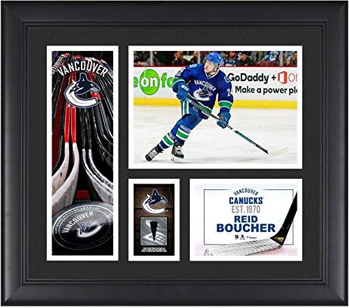 Reid Boucher Vancouver Canucks Framed 15