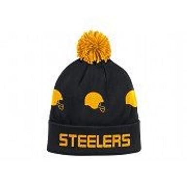 Amazon.com  Mitchell   Ness Pittsburgh Steelers Round Trip Cuff Knit ... 600a4c7e2