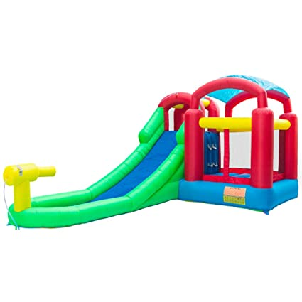 Amazon.com: Bounce House - Bounce hinchable y deslizador de ...