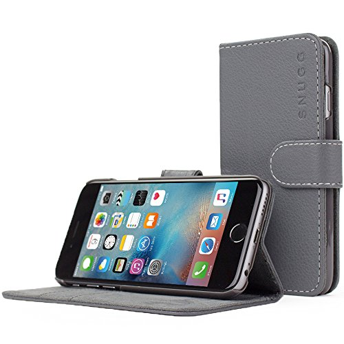 Snugg iPhone Case Leather Wallet