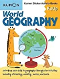 World Geography K & Up: Sticker Activity Book: Kumon Sticker Activity Book
