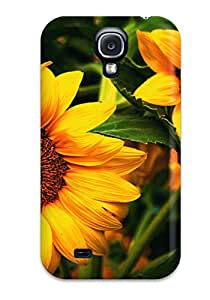 New Shockproof Protection Case Cover For Galaxy S4 Flower Case Cover