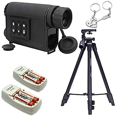 Blueskysea® Mutifunction 6x32 Night Vision Infrared Ir Monocular Scope Scout W / Laser Ranger with Gift Keychain