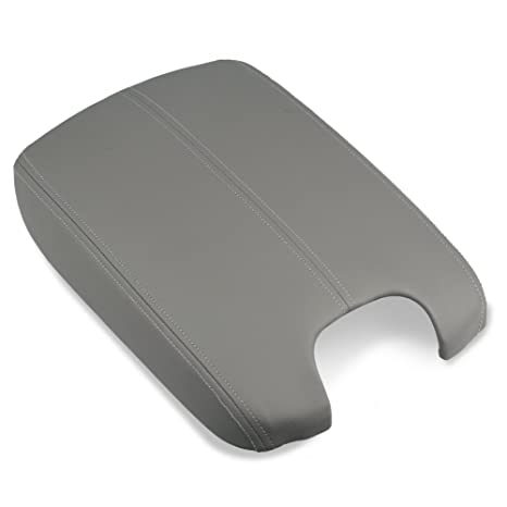 VANJING Center Console Lid Armrest Replacement Cover Compatible For 2008 2009 2010 2011 2012 Honda Accord Center Console Cover Gray