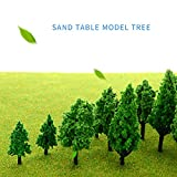 MOMOONNON 36 Pieces Model Trees 1.36-6 inch Mixed
