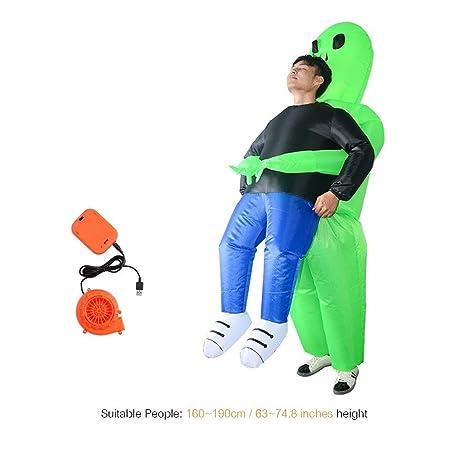 Accesorios de Disfraces inflables de Fantasma Verde de Adultos ...
