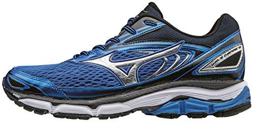 Black Silver Mizuno Pour strong Bleu De Wave Blue 13 Chaussures Inspire Course Homme xOTRxq