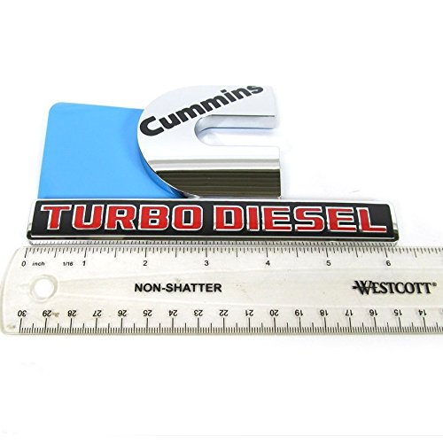 cummins turbo diesel badge - 7