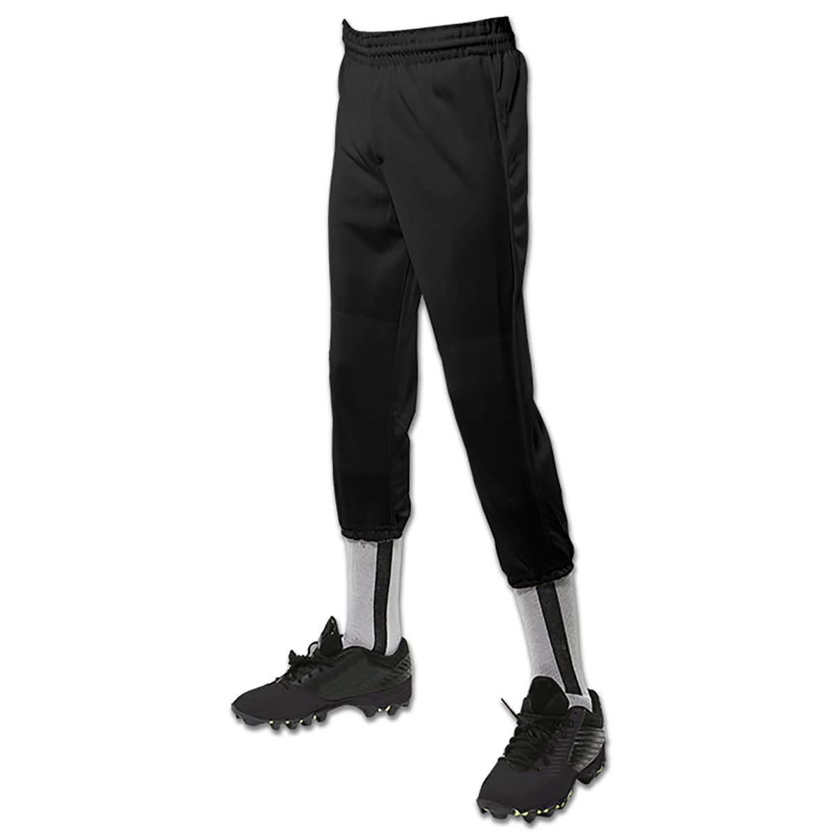 CHAMPRO Youth Performance Pull-Up Baseball Pant Black XS by CHAMPRO