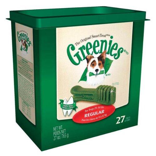 Greenies Dental Chews for Dogs, Regular, Pack of 27, My Pet Supplies