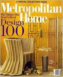 Metropolitan home june 2008 issue editors of metropolitan home magazine books for Metropolitan exteriors inc reviews
