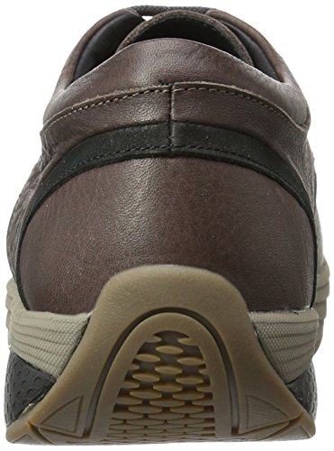 Basso Uomo MBT Black II Coffe Marrone Bean Sneaker Jelani a Chill Collo TxppwS7qY