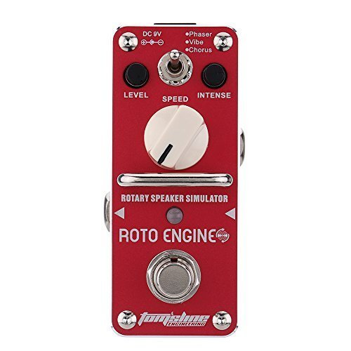 AROMA Electric Guitar Effect Pedal Mini Single Effect with True Bypass (Rotary Speaker Simulator)