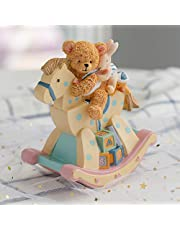 LOVE FOR YOU Rocking Horse Music Box for women Girls boy Baby Kids daughter Children Soothing sleep Musical Rocking Chair Bear for Birthday Gift Valentines Gift(Canon,Pink and Yellow)
