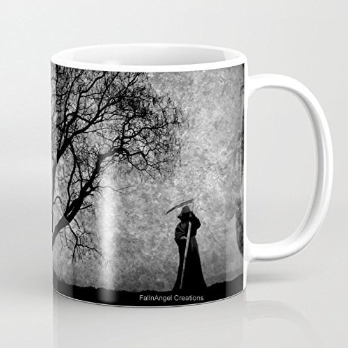 Grim Reaper Mug, 4 Types Available - Boundaries Between (Scary Halloween Coffee Mugs)