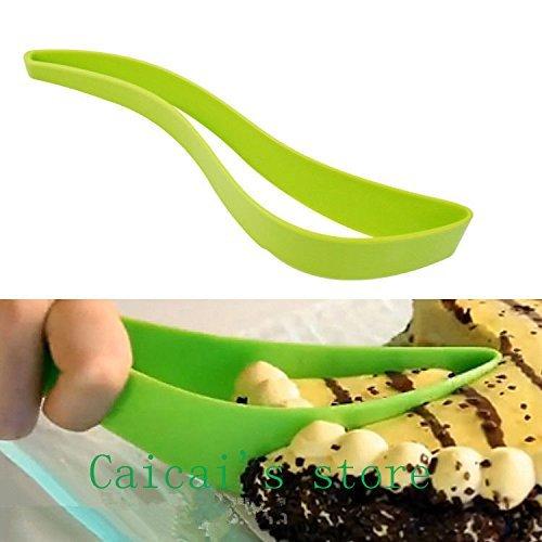 2. Cake Pie Slicer Sheet Guide Cutter Server Bread Slice Knife Kitchen Gadget
