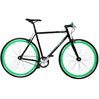 28 Fixie Singlespeed Bike Viking Blade 5 Farben zur Auswahl, Farbe: Schwarz /...