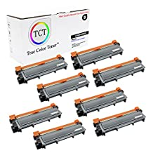 TCT Premium Compatible TN630 Black Toner Cartridge 8 Pack - 1,200 yield- Replaces Brother TN-630, works with the HL-L2300,L2320,L2340,L2360,L2365, DCP-L2500,L2520,L2540, MFC-L2700,L2720,L2740