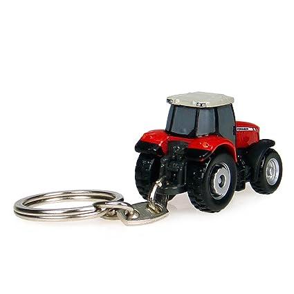 Massey Ferguson 7624 Tractor Llavero: Amazon.es: Juguetes y ...