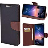 Wurzel Flip Cover for Xolo Era 4X, Luxury Look Flip Cover Case for Xolo Era 4X - Black, Brown